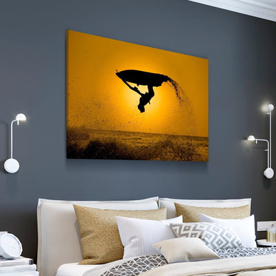 Jet Ski Backflip Canvas Set