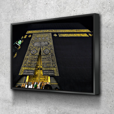 Kaaba Upclose Canvas Set