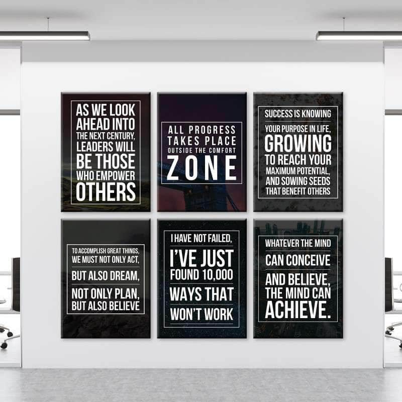 Leaders of Tomorrow 6 Piece Bundle Canvas Set