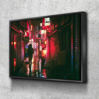 Lonely Night in Japan Canvas Set