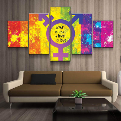 Love Everywhere Canvas Set