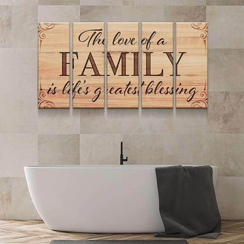 Love of a Family Canvas Set