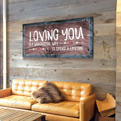 Loving You Canvas Set