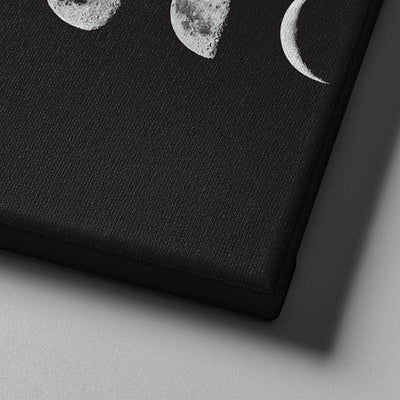 Lunar Cycles Canvas Set
