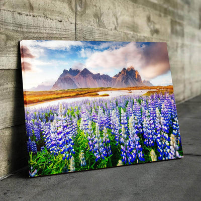 Lupine Flowers Canvas Set