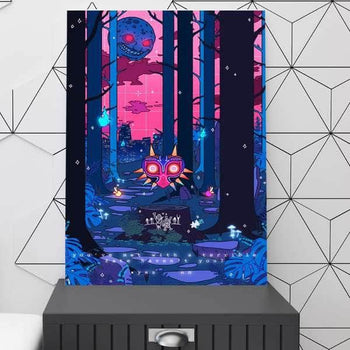 Majora S Mask V2 Canvas Set