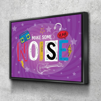 Make Some Noise Canvas Set