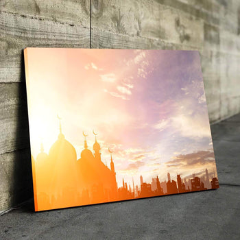 Masjid Shadow Canvas Set