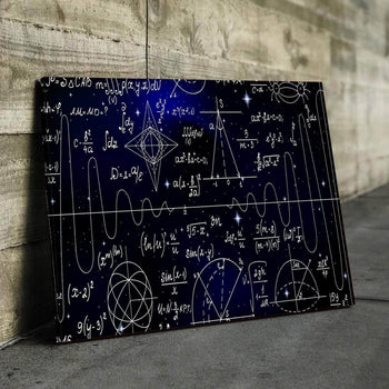 Mathematical Universe Canvas Set