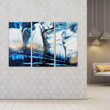 Midnight Waters Canvas Set