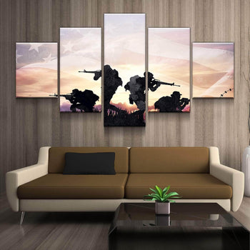 Military Ops Canvas Set