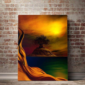 Baobab Isle Canvas Set