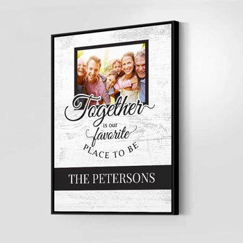 Family Together Custom Canvas Set