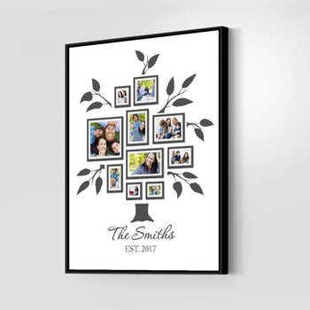 Lovely Family Tree Custom Canvas Set