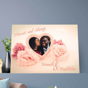 Love in Pink Custom Canvas Set