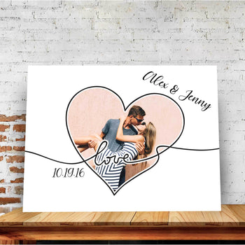 Love In Us Custom Canvas Set