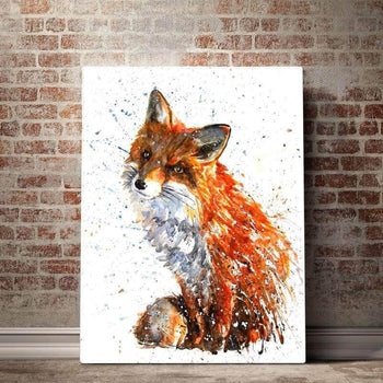 Beautiful Red Fox Canvas Set
