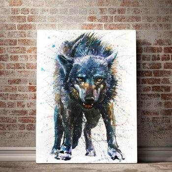 Last Fight of the Wolf Canvas Set