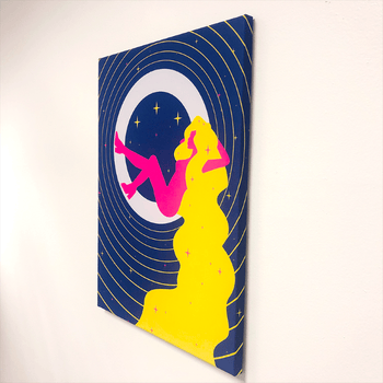 Moon Bathing Lucid Light Wall Art