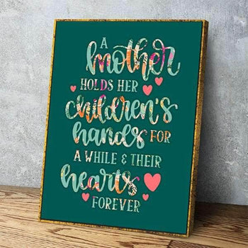 Mother's Heart Canvas Set