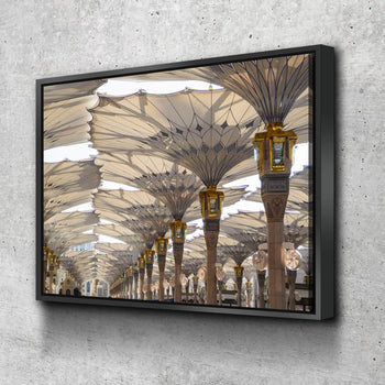 Masjid Nabawi Umbrellas Canvas Set