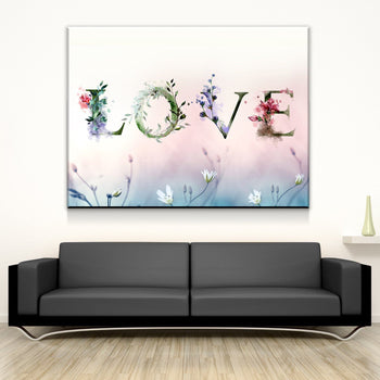 Natural Love Canvas Set