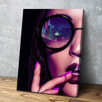 Neon Future Canvas Set