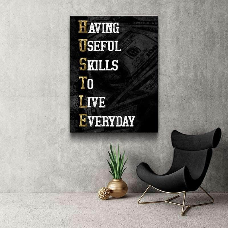 Vertical Hustle Canvas Set