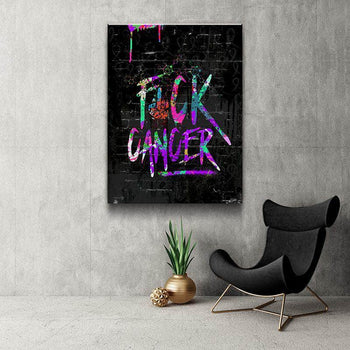 FCK CANCER Canvas Set