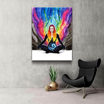 Meditation Canvas Set