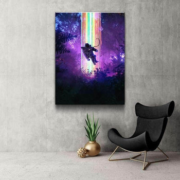 Floating Loneliness Canvas Set