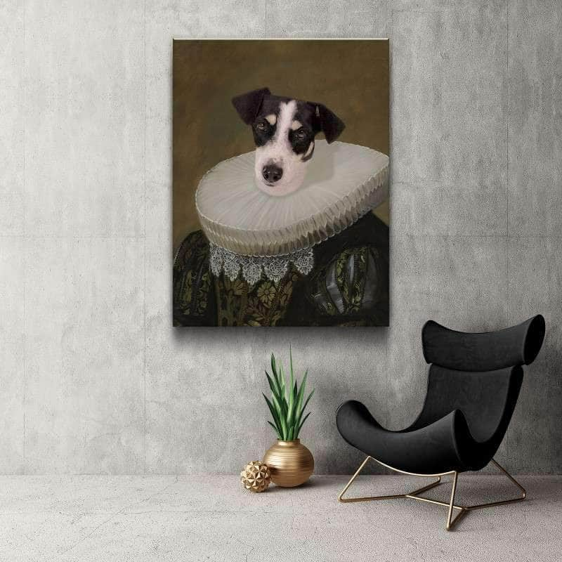 The Noblewoman Custom Pet Canvas Set