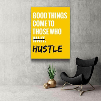 Constant Hustle Canvas Set