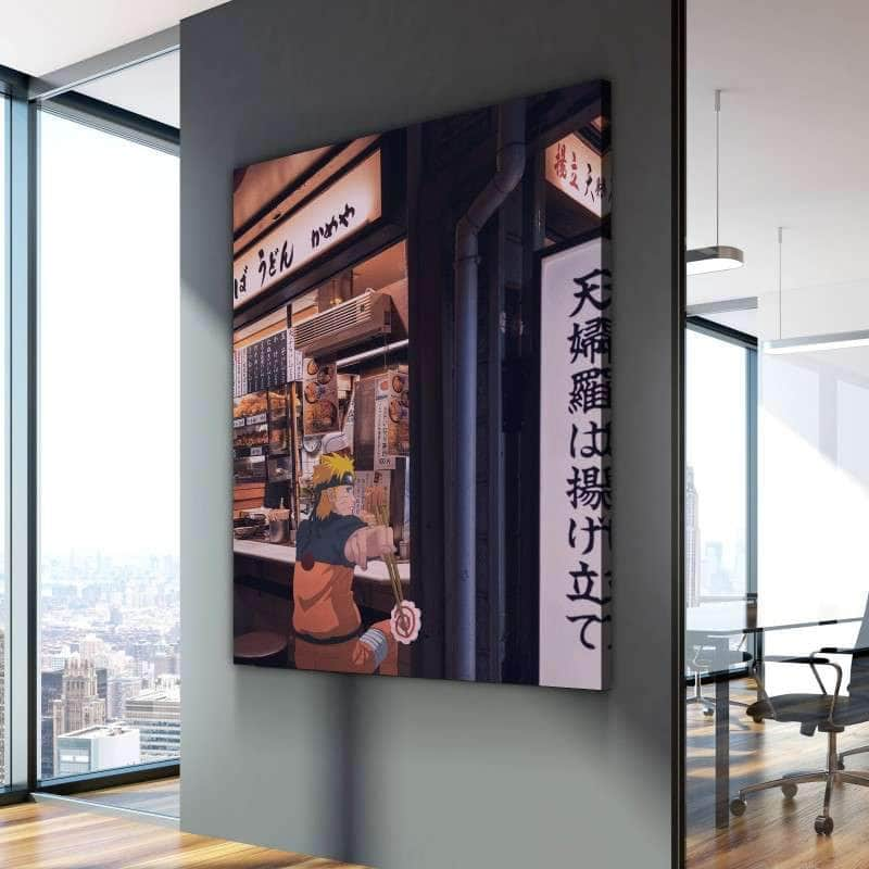 Naruto Ramen Store Canvas Set