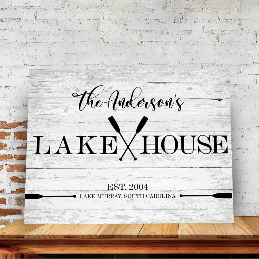 Our Lakehouse Custom Canvas Set