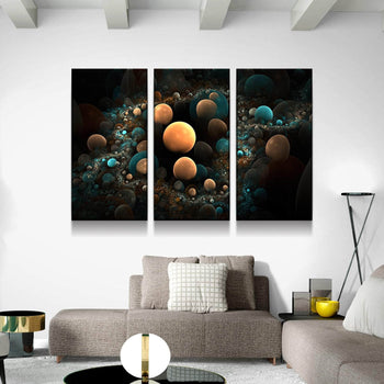 Phases of Galaxy Development Canvas Set