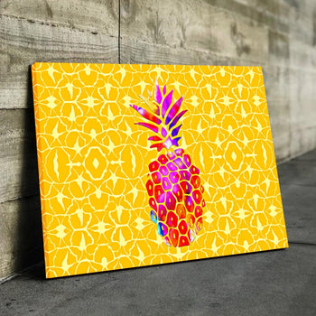 Pineapple Canvas Set