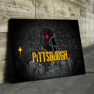 Pittsburgh Football Canvas Set