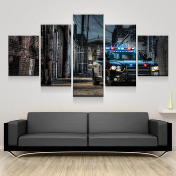 Police Interceptor Canvas Set