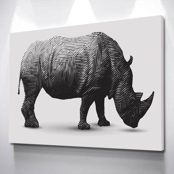 Rhino Canvas Set