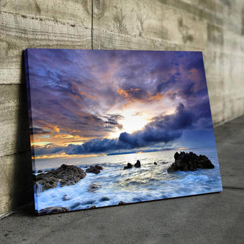 Rocky Waters Canvas Set