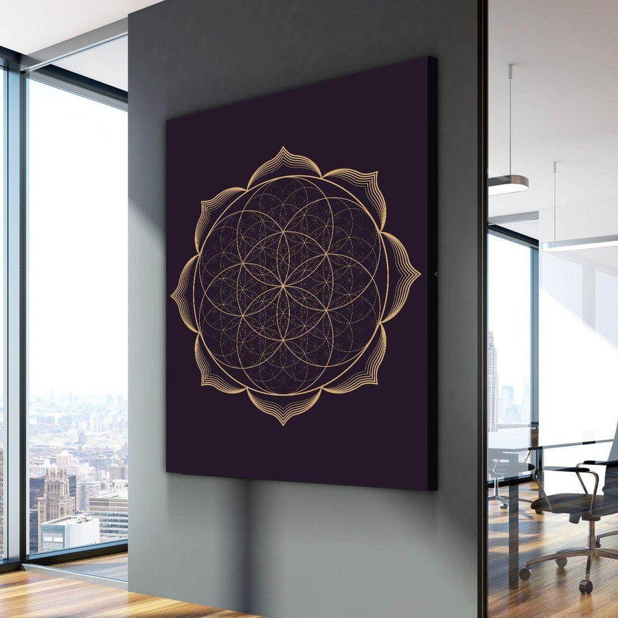 Sacred Lotus Canvas Set