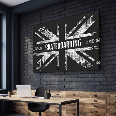 London Skateboarding Canvas Set