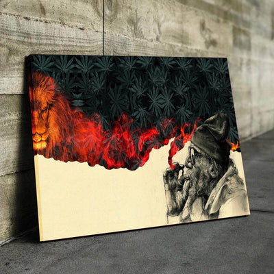 Smoke and Roar Canvas Set