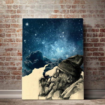 Vertical  Smoke and Wonder Canvas Set