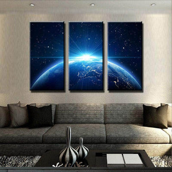 Space Glow Canvas Set