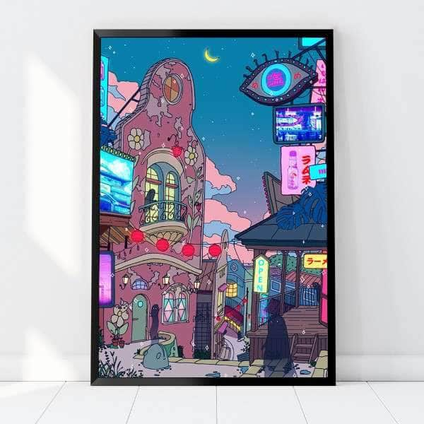 Spirited Away Chill Canvas Set