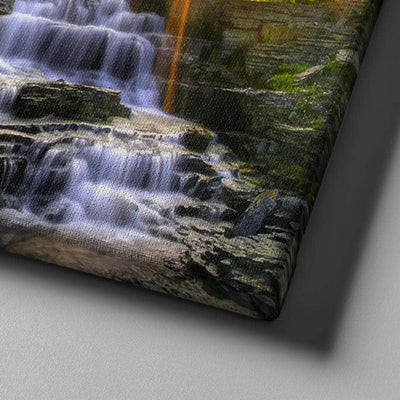 Sunset Waterfall Canvas Set