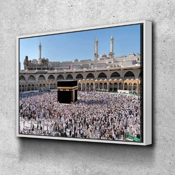 Tawaf at Kaaba Canvas Set