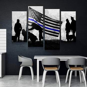 TBL Flag Canvas Set